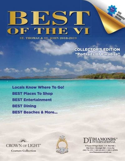 Best of St. Thomas and St. John Winner Magazine