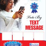 Text to Vote Flyer A