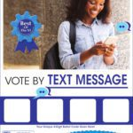 Text to Vote Flyer B