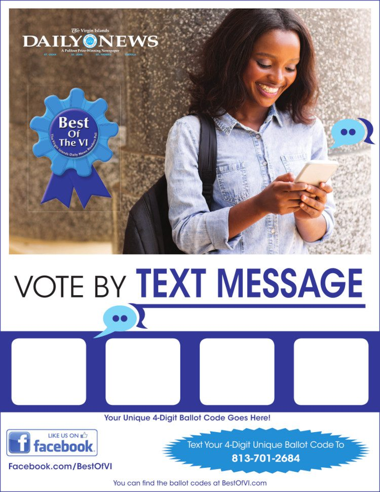 Text to Vote Flyer - B